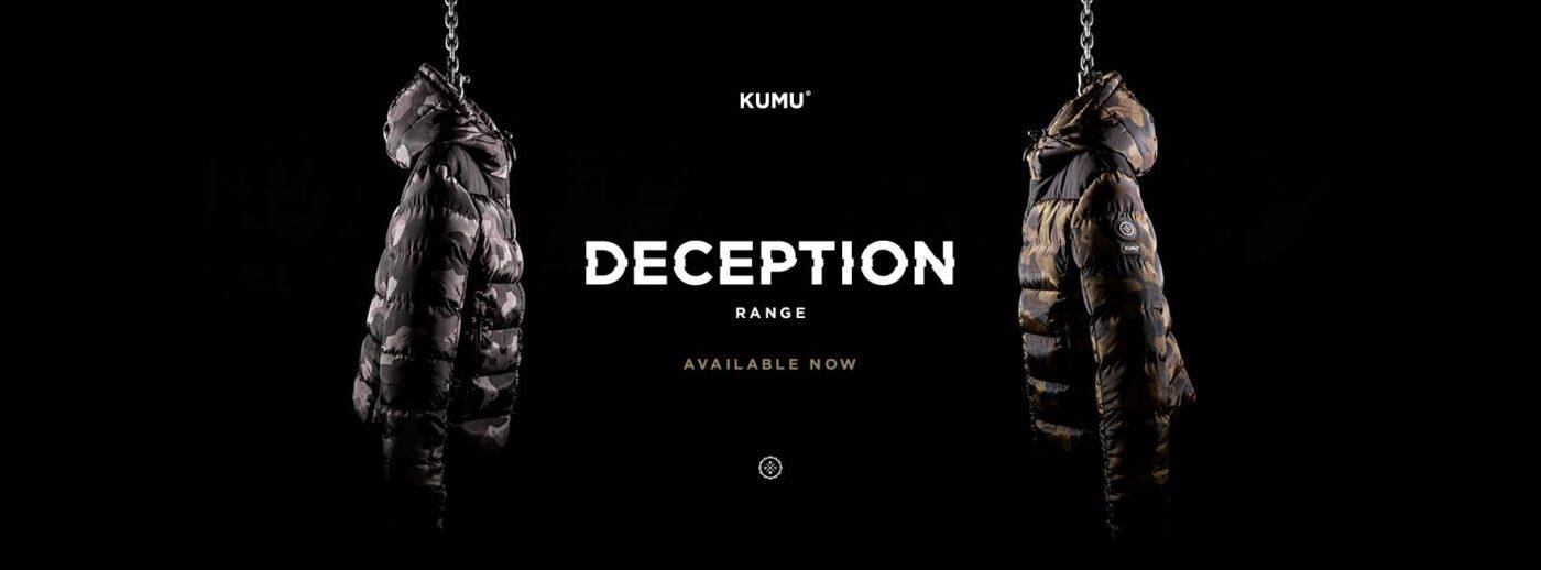 De nieuwe Deception range van KUMU Clothing