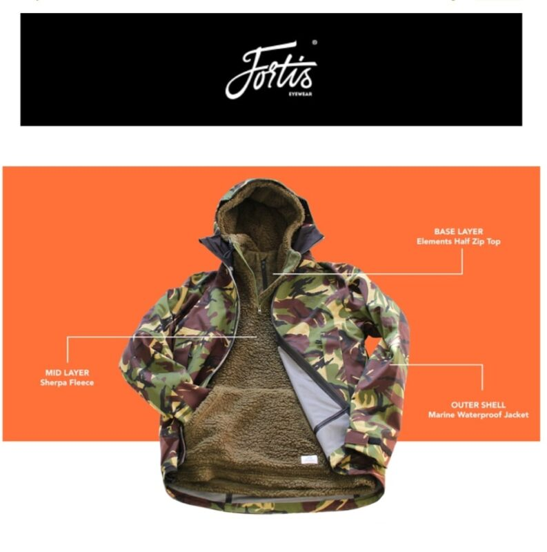 Fortis Eyewear sherpa fleece