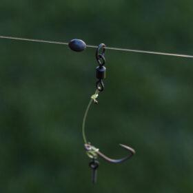 3x Basis rigs voor het vissen op karper
