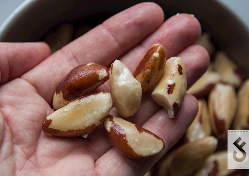 Het bereiden van brazil nuts - carpfeeling 1