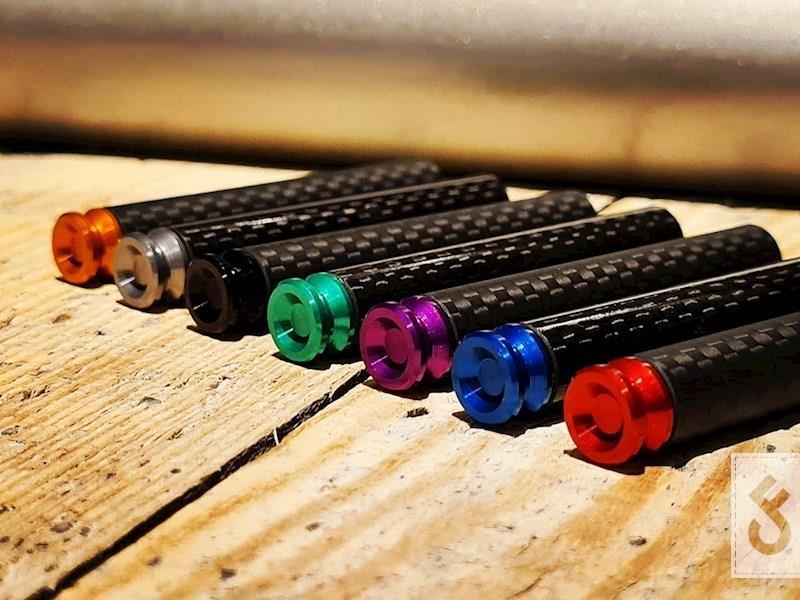 M2 Bait & tackle coloured carbon boilie needle