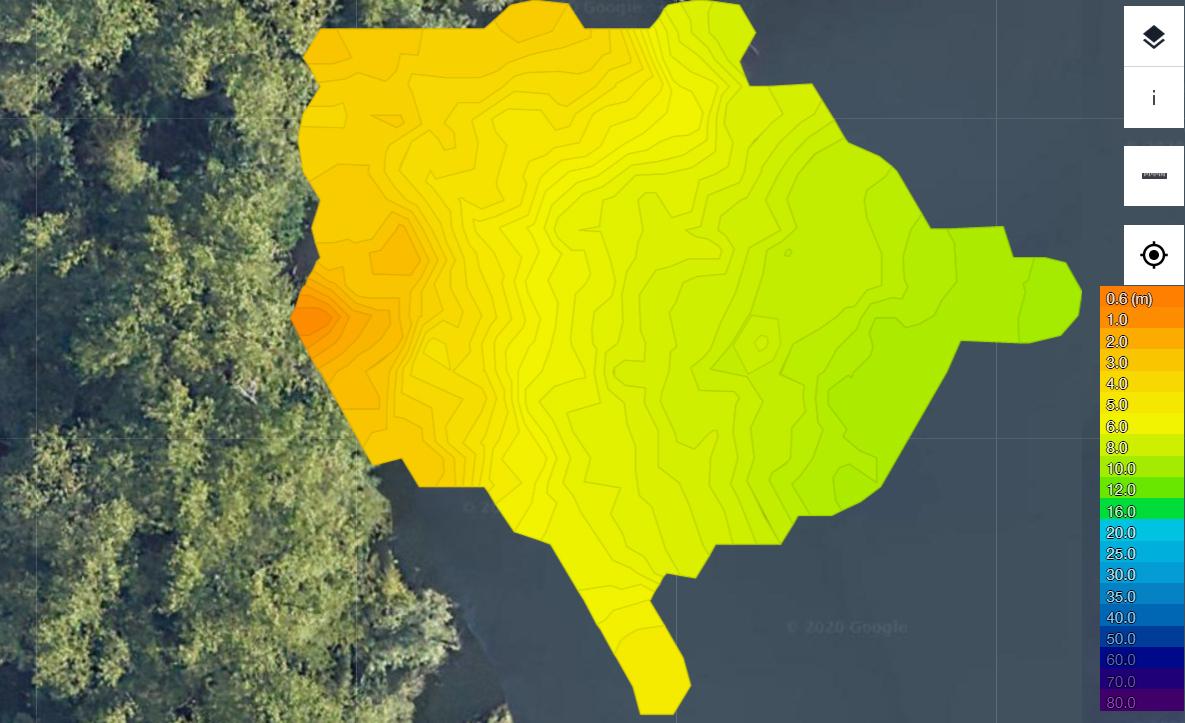 Maak eenvoudig een waterkaart met Lakebook