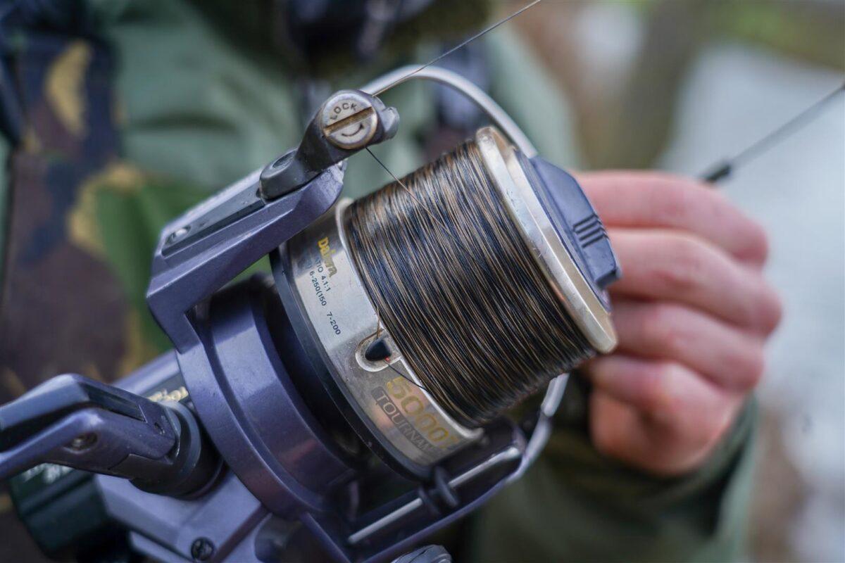Gevlochten lijn maakt het vissen op piepkleine spots makkelijker in vergelijking met monofilament