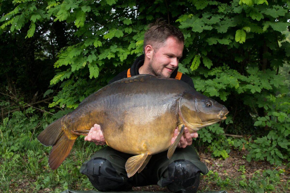 Dit was duidelijk een grotere vis en met 19,6 kg begon de ochtend geweldig