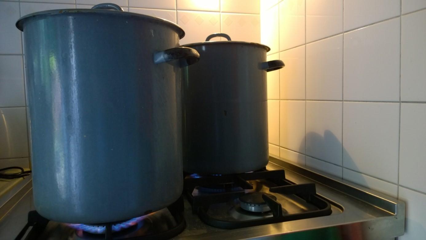 Penvissen op karper - voer koken