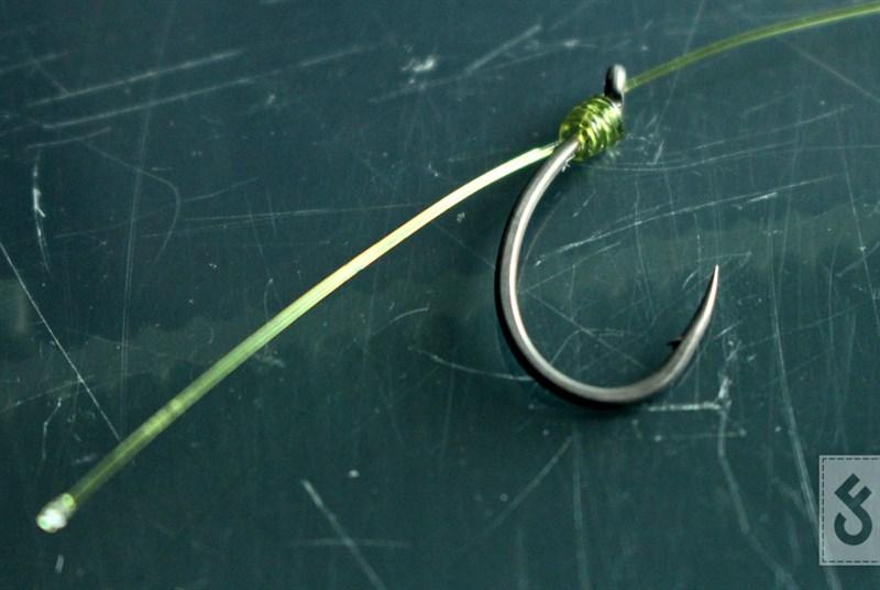 Gebruik een Whipping Knot in plaats van de knotless knot