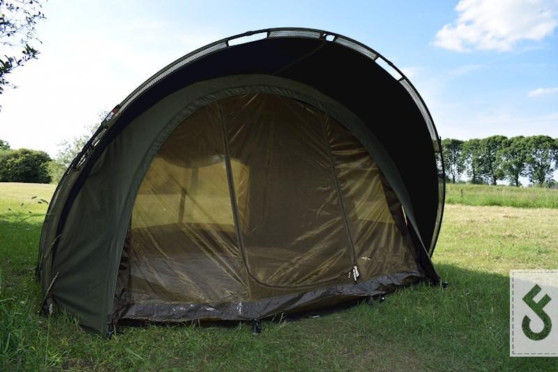 Het muggengaas is ideaal voor de zwoele zomeravonden