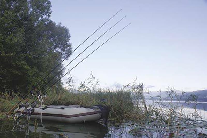 Met wat extra lengte van de hengel kun je het vertrekpunt van de lijnen in de oeverzone goed hoog houden. En met name 's nachts heb je die extra ruimte vaak nodig om met de boot te kunnen manoeuvreren.