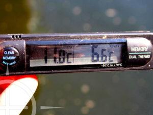 watertemperatuur karper