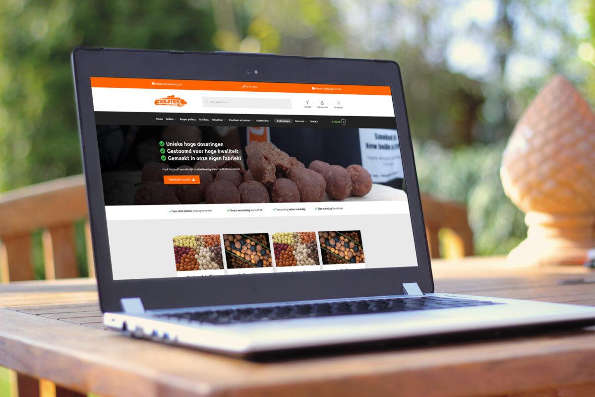 News Flash - Nieuwe website Evolution Products