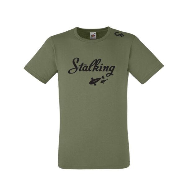 Shirt Stalking olive - CarpFeeling webshop