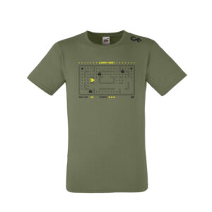 Shirt Carpman olive - CarpFeeling webshop