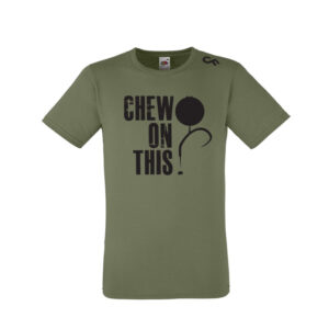 Shirt Chew on This olive - CarpFeeling webshop