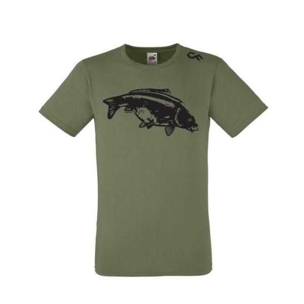 Shirt Karper olive - CarpFeeling webshop