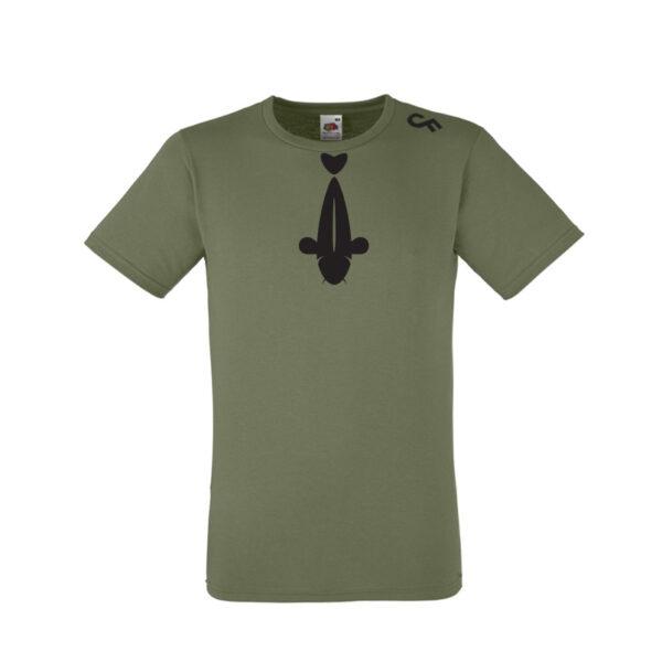 Shirt stropdas olive - CarpFeeling webshop