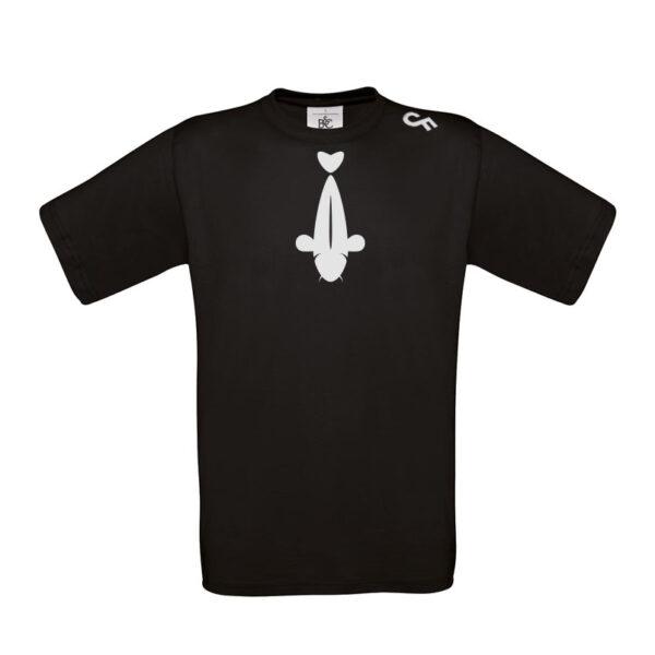 Shirt stropdas zwart - CarpFeeling webshop