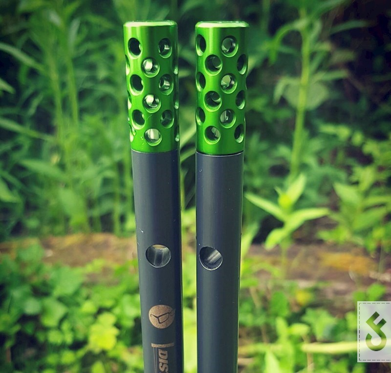 Customized Korda Distance Sticks met Aluminium Heads van Elite Tackle