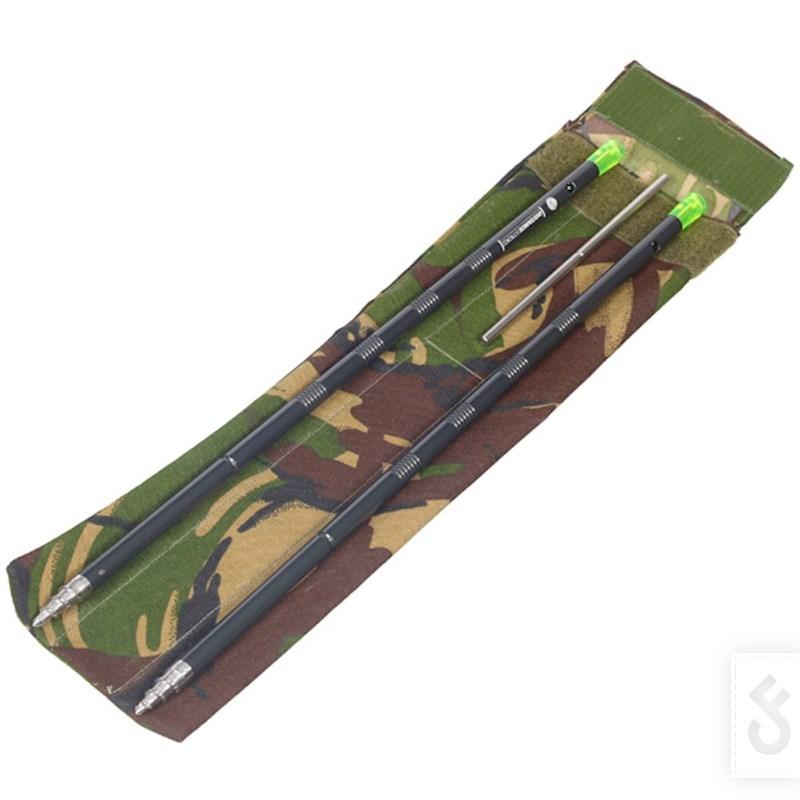 Een custom Distance Stick Bag van Army Andy