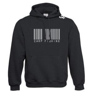 Premium Hoodie Barcode - CarpFeeling webshop