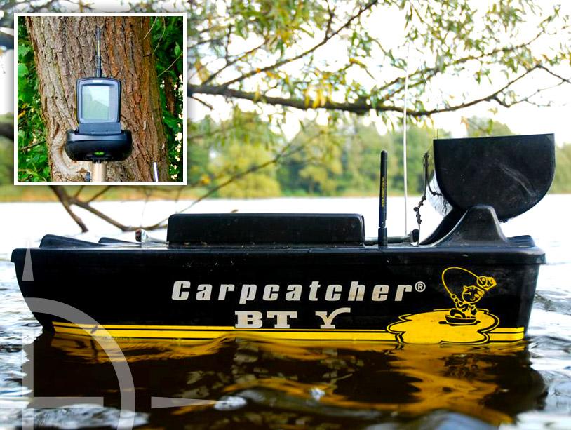 Een (voer)boot met dieptemeter zorgt voor belangrijke informatie