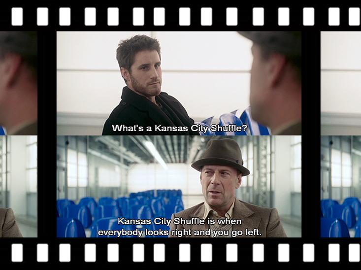 Scene uit de film Lucky number Slevin...