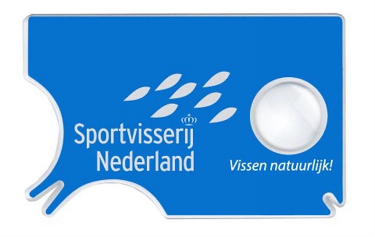 De tekenpas van SportVisserij Nederland