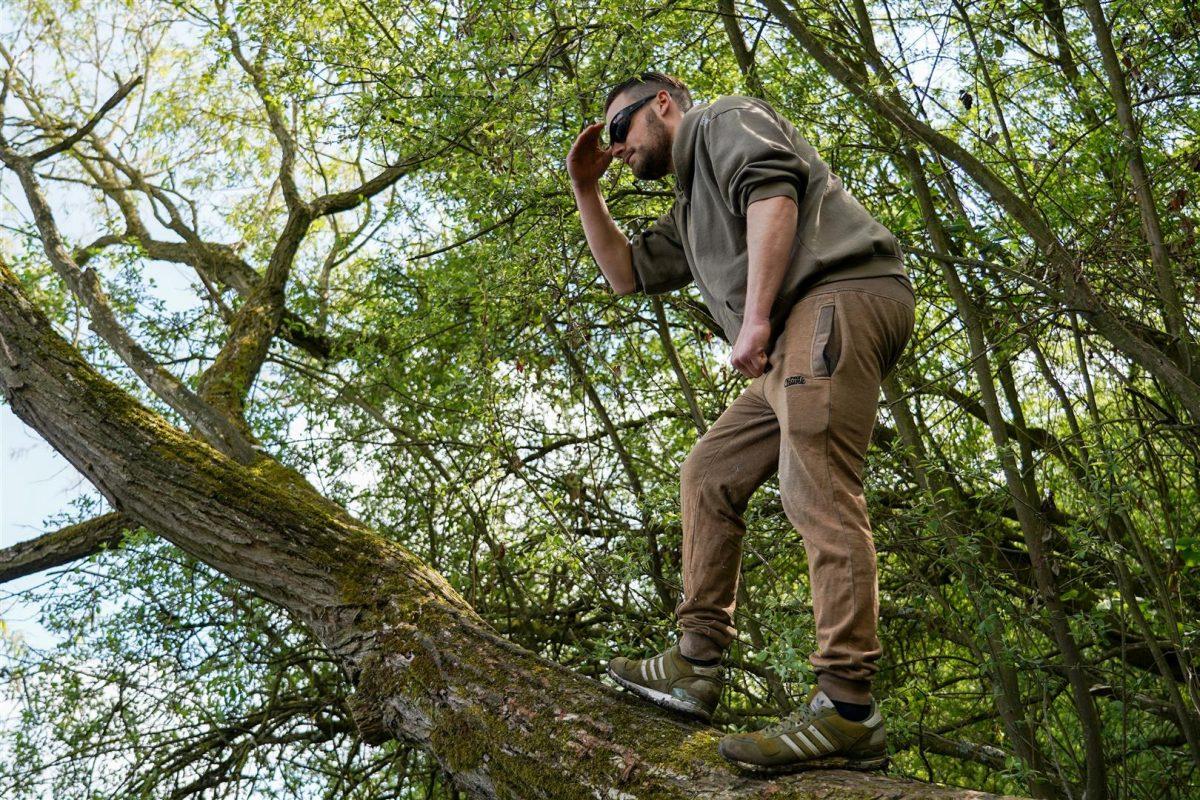 Ik klim veel in bomen om een goed uitkijkpunt te krijgen