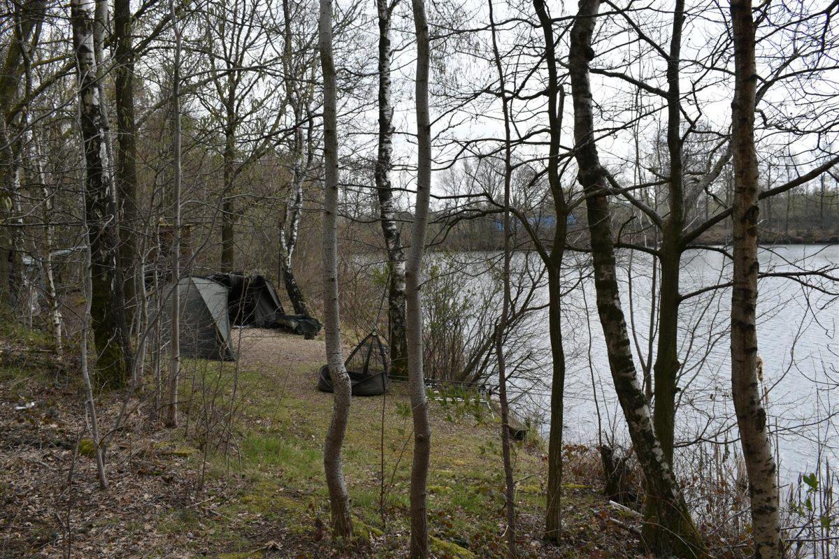 De stek op Blues Lake 2