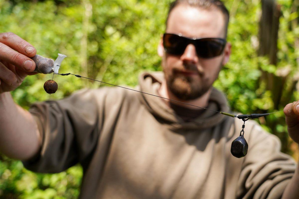 Ik kies bij het vissen in de kantjes vaker voor een langere rig