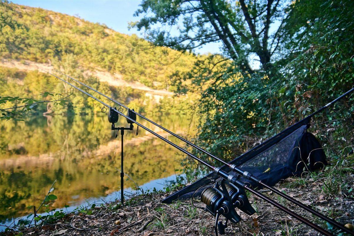 Het vissen op de rivier was voor mij een uitdaging