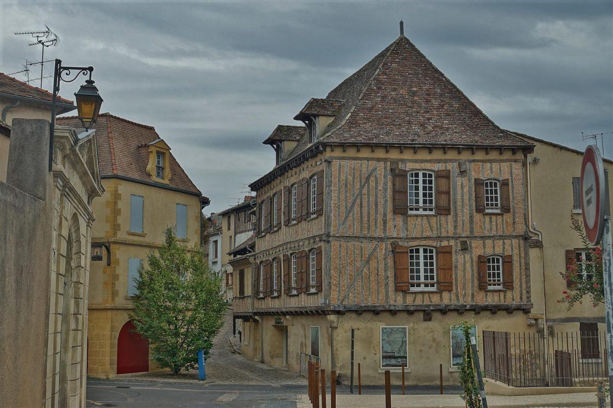 De prachtige oude binnenstad