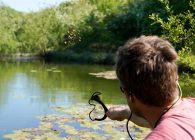 Succesvol oppervlaktevissen in de zomer