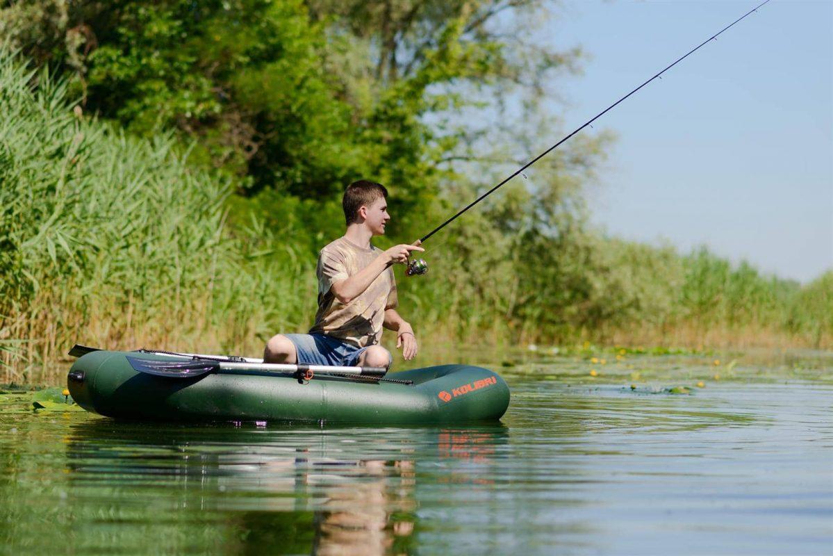 De Kolibri rubberboten zijn ideaal voor de karpervisserij